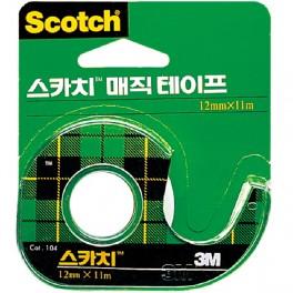 스카치 매직테이프(104A/12mm*11M)