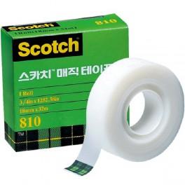 스카치 매직테이프 리필(810R/12mm*18M)